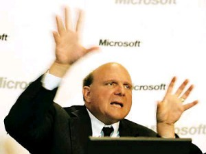 Microsoft CEO Steve Ballmer (image: AllthingsD)
