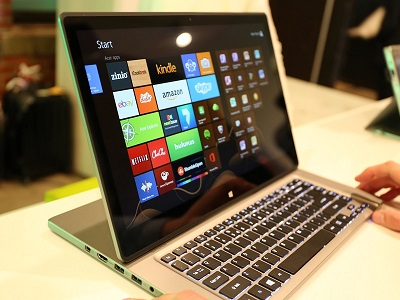 Acer unveiled their newest products at a Global launch in New York City (image: Charlie Fripp)