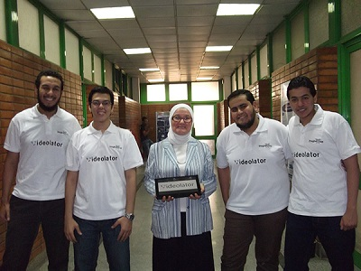 Team MASKed Ninjas from Egypt (image: Microsoft)