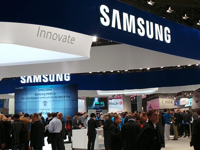 A number of executives in Samsung's key regional posts have been reassigned (image: Charlie Fripp)