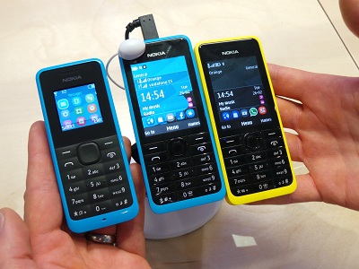 WeChat is now available on the Nokia Asha Touch family of smartphones (image: Charlie Fripp)
