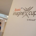 Team will be presenting to the judges today at the Imagine Cup (image: Charlie Fripp)