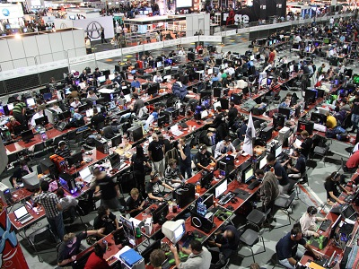 The NAG LAN @ rAge will see gamers compete in titles over the weekend (image: NAG)