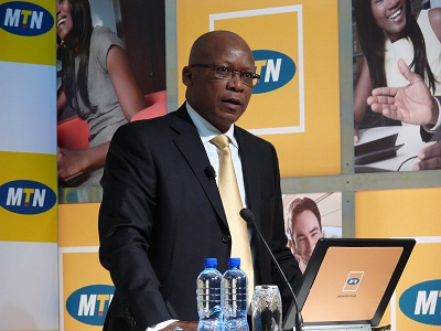 Sifiso Dabengwa, Group President and CEO of MTN (Image source: Charlie Fripp)