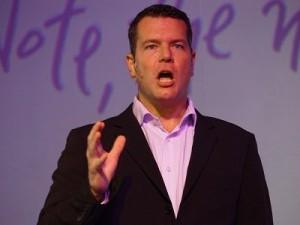 Craig Fleischer, Director of Mobile Communications at Samsung SA (image: Charlie Fripp)