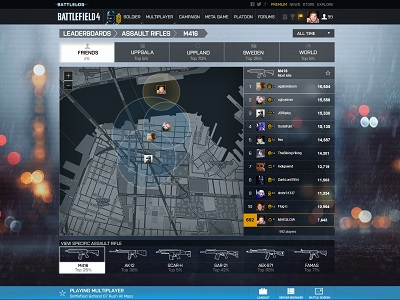 The most advanced installment of Battlelog is set to deliver a new level of social integration (image: EA)