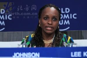 Nigerian ICT Minster Omobola Johnson (image: WEF)