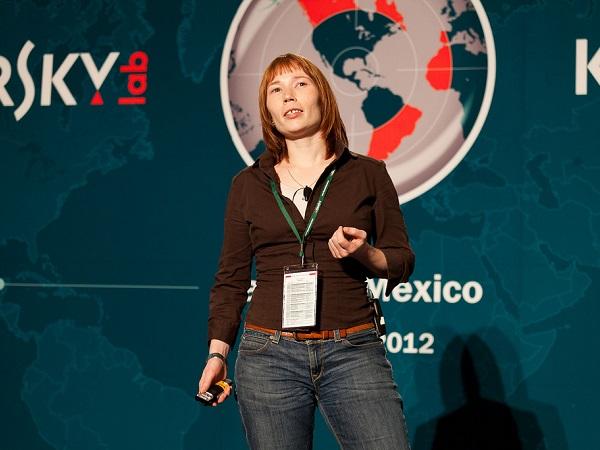 Darya Gudkova, Head of Kaspersky Lab's Content Analysis Department (image: Kaspersky Lab)