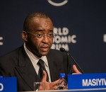 Strive Masiyiwa, founder and chairman of Econet Wireless. (Image source: Flickr/worldeconomicforum)