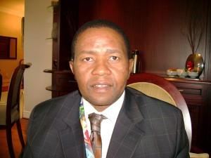Geoffrey Qhena, CEO, IDC. (Image source: Chris Tredger)