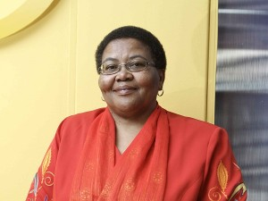USAASA Board Chairperson, Pumla Radebe. (Image source: USAASA)