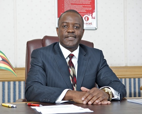 Telecel Zimbabwe communications and branding director Obert Mandimika (image: Telecel)