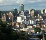 The central business districts of Harare is will be covered by Econet's 4G service (image: file)