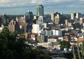 The central business district of Harare.(image: file)