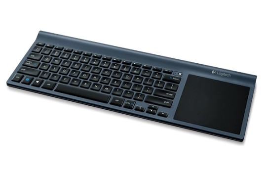 Logitech's Wireless All-in-One Keyboard TK820 (image: Logitech)