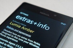 A Nokia Lumia 925 with the new Amber update installed (image: Windows Phone Central)