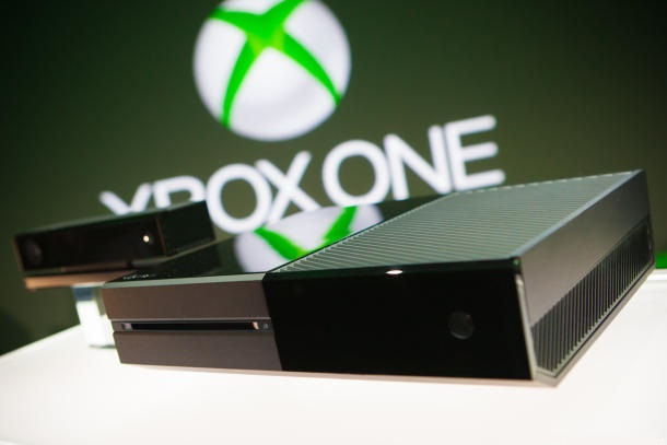 Microsoft's Xbox One gaming console (image: Microsoft)