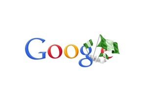 Google's Nigerian search engine is the most visited website in Nigeria (image: Google)