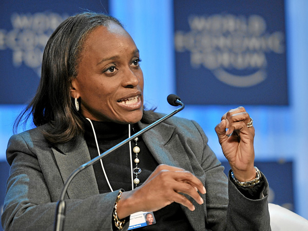 Nigeria's ICT Minster Omobola Johnson (Image source: WEF)