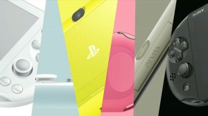 The new Vita will be made available in multiple new colours (image: Sony)