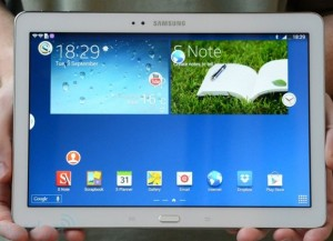 Samsung yesterday unveiled their latest tablet in the form of the GALAXY Note 10.1, 2014 Edition (image: Engadget)
