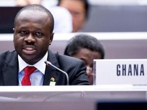 Ghana's ICT minister Edward Omane Boamah (image: file)