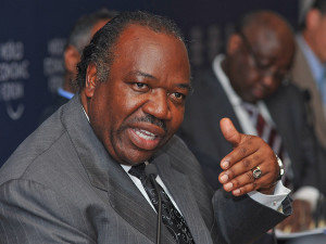 Gabon's My GA Registry today opened up registration for .ga domains for free (Image Credit: President Ali Bongo Ondimba of Gabon- World Economic Forum)