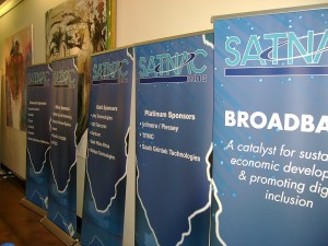At SATNAC 2013, Telkom Business announced the launch of Business Circle for the small business sector. (Image source: Chris Tredger)