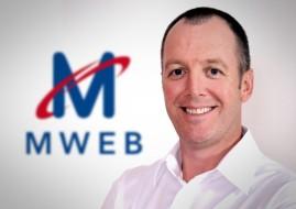 Derek Hershaw, CEO of MWEB ISP (image: MWEB)