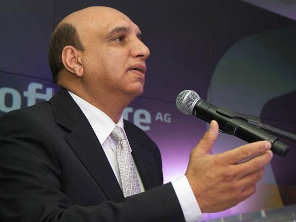 Software AG's Vice President for SA, Mohamed Cassoojee (image: Axel Bührmann)