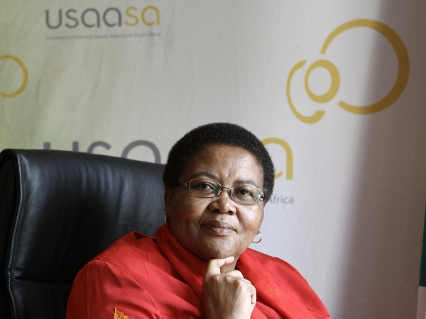 Pumla Radebe, Chairperson of the USAASA Board. (Image source: USAASA)