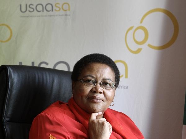 Pumla Radebe, Chairperson of the USAASA Board. (Image source: USAASA)