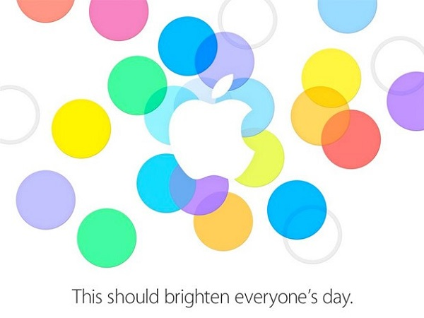 Apple unveiled an invitation dated for 10 September 2013 (image: Apple)