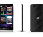 The new all-touch BlackBerry Z30 smartphone (image: BlackBerry)