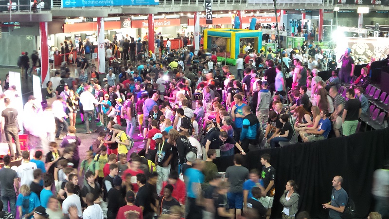 rAge 2013 broke its own attendance records, with 32,626 gamers, tech consumers and computer fanatics swarming through the expo (image: Charlie Fripp)