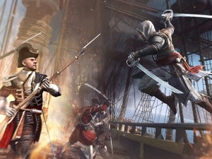 Players will be causing havoc on land, and on the high-seas (image: Ubisoft)