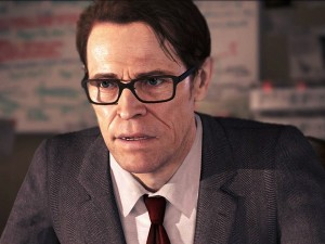 Screen veteran Willem Dafoe acted out the role of Jodie's scientist guardian (image: SCE)
