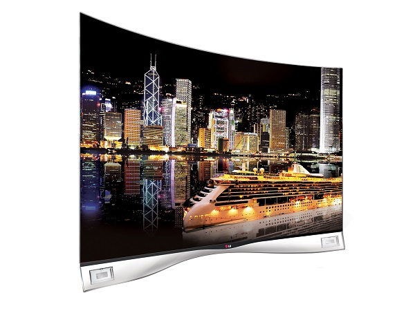LG South Africa today unveiled the world's first curved OLED (image: LG)