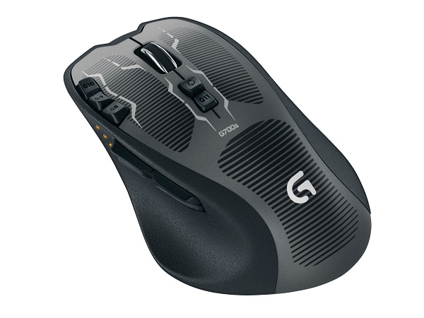 Logitech's G700s Rechargeable Gaming Mouse (image: Logitech)