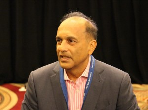 President of Intel Capital, Arvind Sodhani (image: Charlie Fripp)