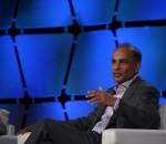 Intel Capital's President Arvind Sodhani (image: Charlie Fripp)