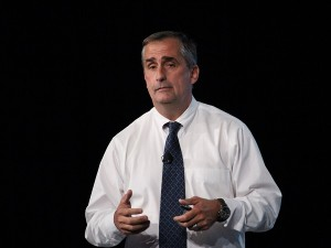 Brian Krzanich, CEO of Intel (image: Charlie Fripp)
