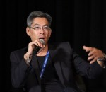 Intel's Perceptual Computing Managing Director Mark Yahiro (image: Charlie Fripp)
