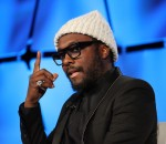 Will.i.am, a founding member of the internationally acclaimed group The Black Eyed Peas (image: Charlie Fripp)