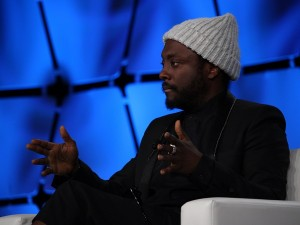 Will.i.am during a talk at Intel Capital's CEO Summit (image: Charlie Fripp)