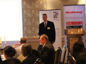 Philip du Plessis, Mobility Lead, Avanade South Africa at the Innovation Dinner. (Image source: Charlie Fripp)