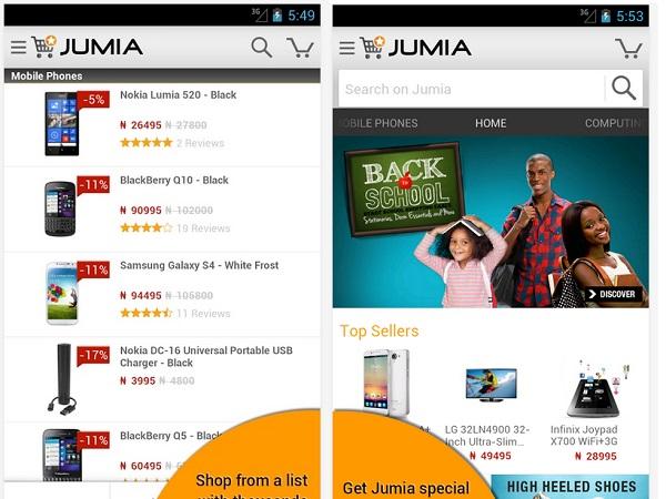 Rocket Internet's Jumia  (image: Google)