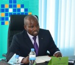 Minister of Youth and ICT, Jean Philbert Nsengimana. (Image source: ICT & Innovation Summit)