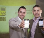 Nathan Sasto and Anton van Metzinger, founders of SnappCab (Image source: SnappCab)