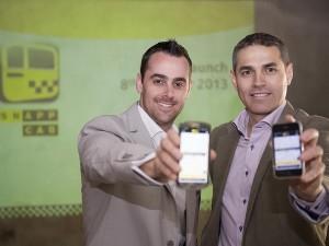 Nathan Sasto and Anton van Metzinger, founders of SnappCab (Image source: SnappCab)